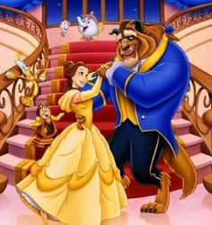 Beauty And The Beast Wallpaper, Beauty And The Beast Tattoo, Beauty And The Beast Party, Disney Beauty And The Beast, Disney Princess Drawings, Disney Princess Belle, Disney Theme, Disney Fan Art, Cute Disney Characters