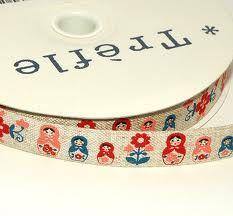 Gorgeous Russian doll ribbon.