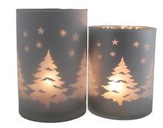 khevga Windlicht aus Glas mit Winterwald Motiv - Teelichthalter Weihnachten aus Glas khevga http://www.amazon.de/dp/B0173RGX7G/ref=cm_sw_r_pi_dp_Y6Hqwb09EVCZ1