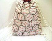 Baseball Drawstring Backpack Softball Bags, Sports Mom, Needle And Thread, Drawstring Backpack, Bag Accessories, Crafty, Baseball, Play, Sewing
