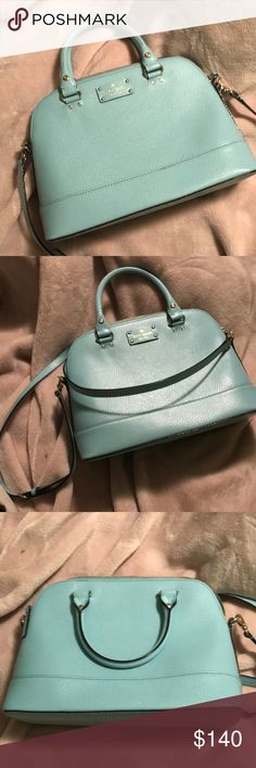 kate spade grove street large bag in teal just like new, hardly ever used kate spade Bags Shoulder Bags