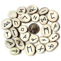 Runes. Harry Potter Spell Book, Harry Potter Diy, Awesome Stuff, Fun Stuff, Clairvoyant Readings, Ancient Runes, Rune Symbols, I Ching, Elder Futhark