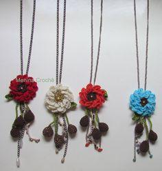 Colar flor