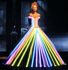 Projection Dress Franck Sorbier