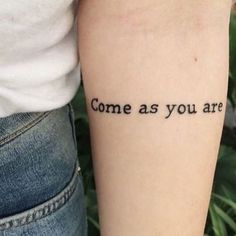 Come As You Are - Little Tattoo Ideas That Are Perfect For Your First Ink - Photos