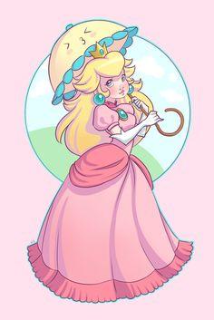 Princess Peach by ~Chpi on deviantART