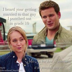 Lol so true Watch Heartland, Amy And Ty Heartland, Heartland Seasons, Heartland Quotes, Heartland Ranch, Heartland Tv Show, Best Tv Shows, Best Shows Ever, Favorite Tv Shows