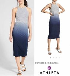 Fashionlicious - online shop indonesia branded: Athleta Sunkissed Midi Dress