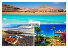 Fuerteventura's exotische Orte | Urlaubsgrüße | Echte Postkarten online…