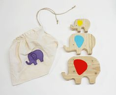 DIY wooden elephants - have you made anything with wood? I'd like to have a go.