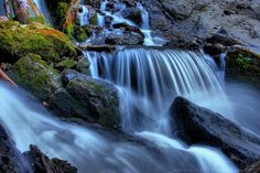 Big Cottonwood Canyon hikes, this is Donut Falls, one of the hikes you can do.