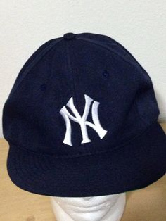 New York Yankees Twins Navy Blue Slouch Relaxed Trucker Baseball Snaoback on Etsy, $25.00