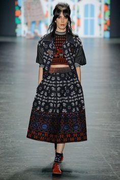 Anna Sui Spring 2017 Ready-to-Wear Collection Photos - Vogue