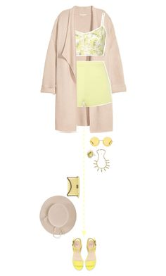 """""""Untitled #812"""" by redx1202 ❤ liked on Polyvore featuring Kofta, T By Alexander Wang, The Row, Zara, Chanel, Blu Bijoux and Yestadt Millinery"""