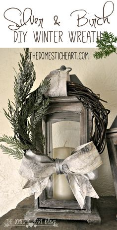 This super simple wreath is both elegant and affordable, using a dollar store grapevine wreath and DIY flocked greenery