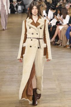 Favorite coat at chloe-rtw-fw15-runway-23 – Vogue