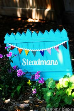 A version of this would be cute in front yard flower bed!