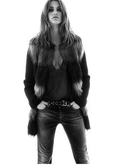 TWINSET Simona Barbieri FW16-17 Jeans Campaign Starring Dutch model Luna Bijl #AW16 #twinset Look__004