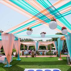 Stunning Turquoise Wedding Decor Photos that are Feast for t Pastel Wedding Theme, Desi Wedding Decor, Wedding Hall Decorations, Marriage Decoration, Wedding Entrance, Wedding Mandap, Wedding Scene, Wedding Receptions, Turquoise Wedding Decor