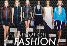 "Alexander Wang S/S 2012 - The Sport of Fashion Trend Alert!   It might not have a designated spot in the Olympics, but for those of us who make it not only our careers but our passion: fashion is a sport.  We won't go so far as to declare ""shopping as our cardio,"" but the game of fashion is a competitive sport.    Consider the following:  We've got on and off seasons and even pre-seasons.  Tickets to the best shows are tough to get–if you aren't a seasoned ticket holder (ie: front row…"
