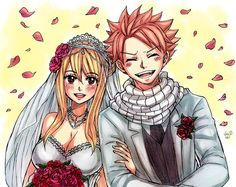 Fairy Tail - Natsu Dragneel and Lucy Heartfilia Ultimate Dance of Magic Wedding Versions by Leon S.
