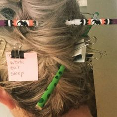 Crazy hair day for teachers! Crazy hair day for teachers! Crazy Hair Day For Teachers, Crazy Hair Day At School, Crazy Hair Days, Quick Hairstyles For School, Cool Hairstyles For Girls, Funky Hairstyles, Wacky Hair Days, Surfer Hair, Teacher Hair