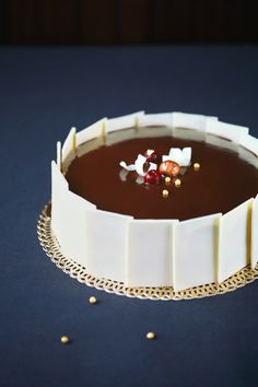 Verdade de sabor: Chocolate cherry mousse cake / Torta mousse de chocolate e cereja