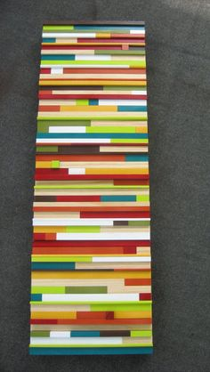 Etsy - Painted Wooden Modern Art Sculpture ...BTW, check this out!!!! : http://artcaffeine.imobileappsys.com