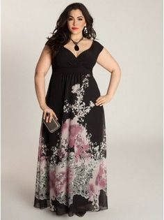 Abigail Plus Size Maxi Dress - Summer Maxi Dress by IGIGI