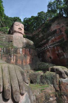 Big Buddha at Leshan, Chengdu, China