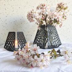 Create a beautiful and different vase by using a regular water glass. All you need is a candle holder, a glass that fits in your candle holder and some flowers or branches (you can go outside and pick something you like). You can use a lot of different candle holders that are intended for tea …