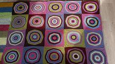 Ravelry: Esss' Kandinsky blanket