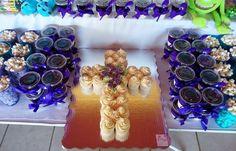 #cupcake #cruz #bautizo #gelatina #jell-o #popcorn #palomitas #candybar #partyideas