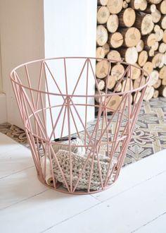 Blush + Wire Basket / Favorite Pins Right Now / www.amandatotorodesign.com