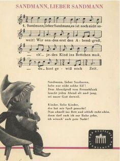 Das Sandmännchen im Ost-Fernsehen war und ist Kult - auch im Westen!!! Das Lied gefällt mir auch heute noch. :-)