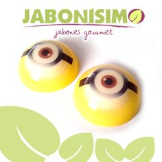 Jabón Minion eyes.