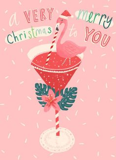 print & pattern: CHRISTMAS - explore courses 2019 with victoria johnson Merry Christmas To You, Christmas In July, Pink Christmas, Christmas Images, Christmas Greetings, Vintage Christmas, Christmas Crafts, Christmas Decorations, Christmas Martini