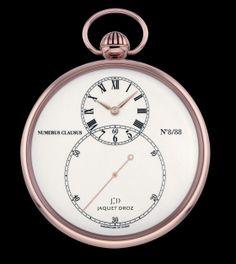 Jaquet Droz Grande Seconde Pocket watch