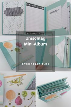 Diy Mini Album, Mini Albums, Bunt, Stampin Up, Apple, Packaging, Cards, Stamping Up, Extended Play