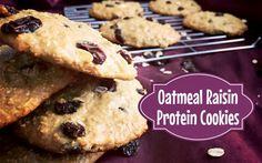 oatmeal raisin protein cookie recipe