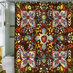 Khristian A. Howell Wanderlust Shower Curtain >> Love this shower curtain!