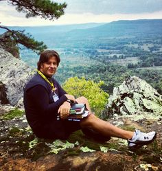 Hanging out meditating on a mountain in Little Rock, Arkansas!!!