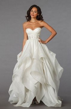 Pnina Tornai - Sweetheart Ball Gown in Organza