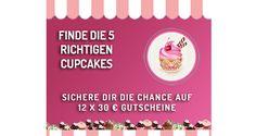 Cupcake Gewinnspiel