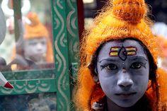 Shiva in the street