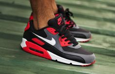 """sweetsoles: """" Nike Air Max 90 'Reverse Infrared' (by msgt16) """""""