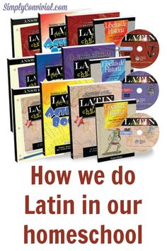 How We Homeschool Latin - with a giveaway! » Simply Convivial