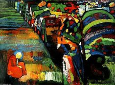 Wassily Kandinsky  I love Kandinskys use of pure colour
