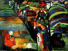 Wassily Kandinsky  I love Kandinskys use of pure colour