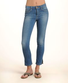 Joe's Jeans High Rise Slit Ankle Skinny Jeans